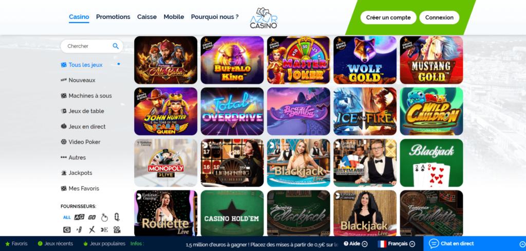 Azur Casino Slots