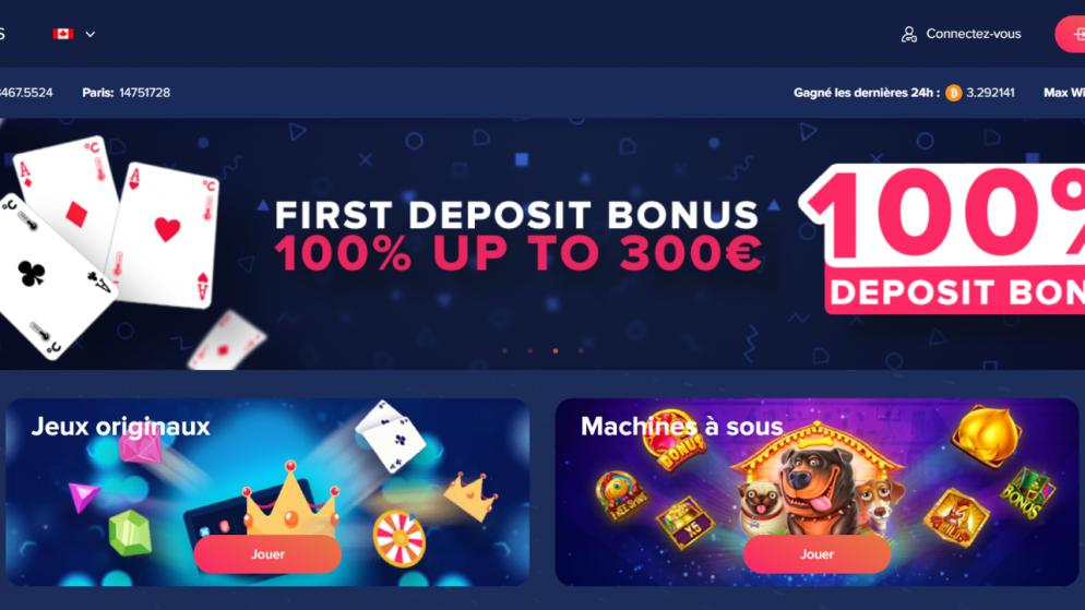 Celsius casino en ligne acceptant la crypto-monnaie