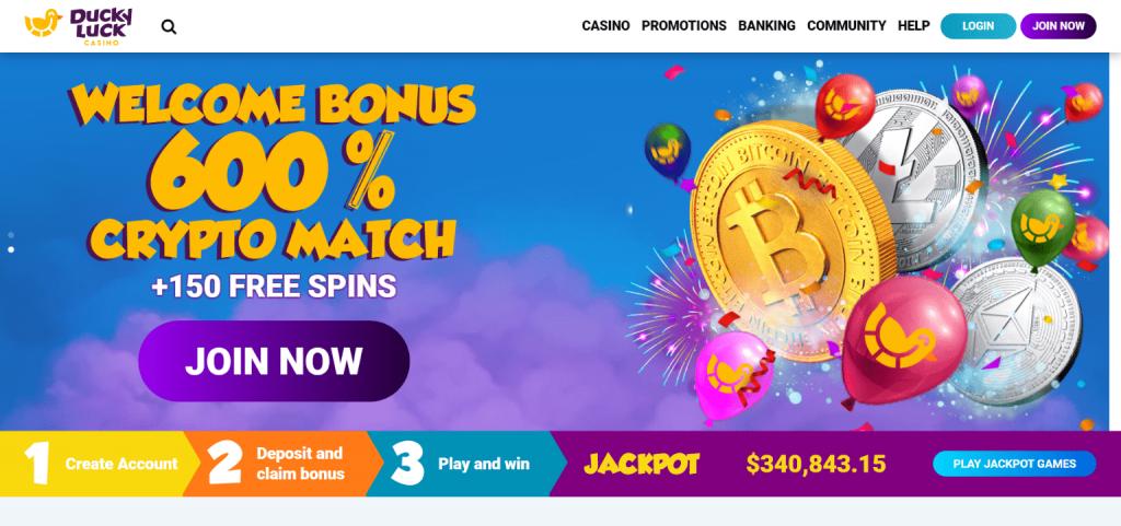 Ducky luck casino bonus