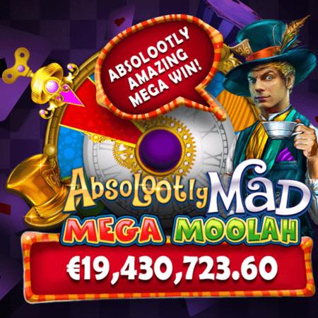 Le Jackpot Mega Moolah de Microgaming a été remporté avec un record de 19,4 millions d'euros