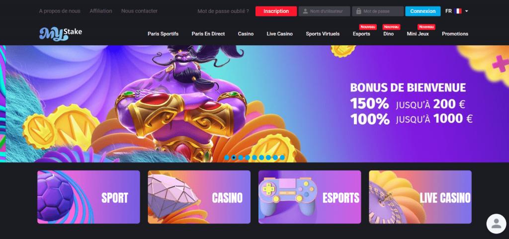 Mystake casino bonus